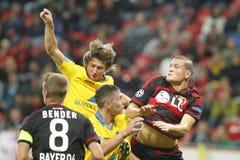 Het Bayer Leverkusen van Kyriá kos Papadà ³ poulos Royalty-vrije Stock Foto's