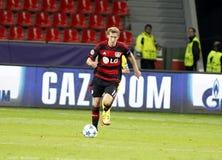 Het Bayer Leverkusen van Stefan Kießling Stock Afbeelding