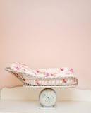 Het bed van de baby Stock Foto