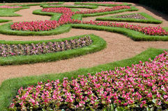 Het bed van de bloem Royalty-vrije Stock Foto's