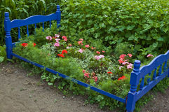 Het bed van de bloem! Royalty-vrije Stock Afbeeldingen