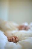Het bed van de droom Stock Foto's