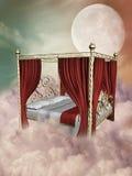 Het bed van de prinses Stock Afbeelding