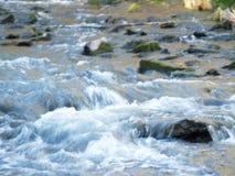 Het bed van de rivier Royalty-vrije Stock Foto's