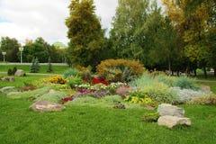 Het bed van de tuin Stock Afbeelding