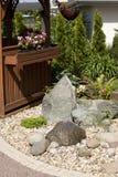 Het bed van de tuin Stock Foto's