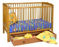 Het bed van het kind `s Royalty-vrije Stock Fotografie