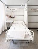 Het bed van het ziekenhuis Stock Foto