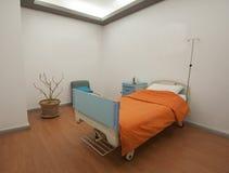 Privé afdeling in het ziekenhuis Royalty-vrije Stock Afbeelding