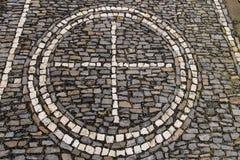 Het bedekken van de steen textuur Royalty-vrije Stock Afbeeldingen