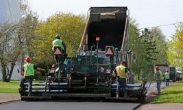 Het Bedekken van de weg Stock Fotografie