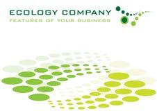 Het bedrijf van de ecologie Stock Afbeeldingen