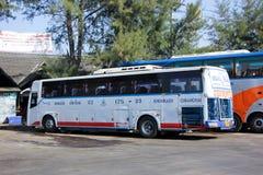 Het bedrijf van de Esarnreis vervoert nr per bus 175-33 stock foto