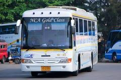 Het bedrijf van de Nakhonchailucht vervoert nr per bus 18-85 Stock Foto
