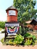 Het Bedrijf van de Stonymanmijnbouw, Luray Caverns, Virginia Stock Foto