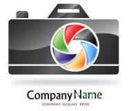 Het bedrijfembleem van de fotografie Stock Foto
