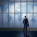 Het bedrijfs internationaal reizen Stock Foto's