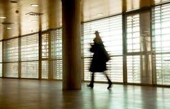 Het bedrijfs mensen lopen Stock Foto's