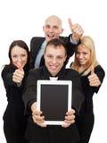 Het bedrijfsmensen Geven Duimen omhoog Stock Foto's