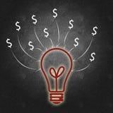 Het bedrijfssucces van de bedrijfseconomie en stock illustratie
