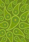 Het beeld van abstractie, komkommer. royalty-vrije illustratie