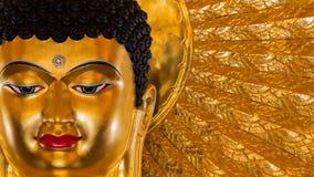 Het beeld van Boedha als amuletten van Boeddhismegodsdienst die wordt gebruikt Royalty-vrije Stock Fotografie