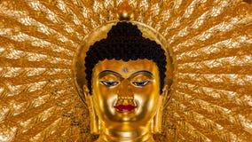 Het beeld van Boedha als amuletten van Boeddhismegodsdienst die wordt gebruikt Royalty-vrije Stock Foto