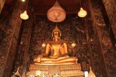 Het Beeld van Boedha in Bangkok, Thailand Stock Afbeelding