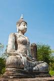 Het beeld van Boedha bij Historisch Park Sukhothai Royalty-vrije Stock Afbeeldingen