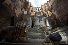 Het Beeld van Boedha bij Wat Srichum In Sukhothai Historical-Park Royalty-vrije Stock Afbeelding