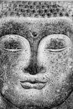 Het beeld van Boedha, muurbeeld royalty-vrije stock afbeelding