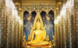Het beeld van Boedha in Thailand Stock Fotografie