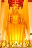Het beeld van Boedha van de zitting. Royalty-vrije Stock Foto's