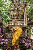 Het beeld van Boedha in vrede 2 Stock Fotografie