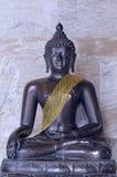 Het beeld van Boedha in Wat Benchamabophit Royalty-vrije Stock Foto