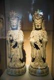 Het beeld van Buddhaï¼ bodhisattva Œguanyin Stock Foto