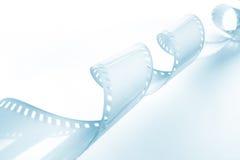 Het beeld van de close-up van het krullen van 35mm film Stock Foto's