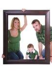 Het beeld van de familie Stock Foto's