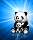 Het beeld van de panda Royalty-vrije Stock Foto