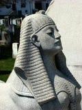 Het beeld van de steen van het gezicht van een vrouw Royalty-vrije Stock Foto