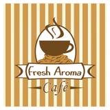 Het Beeld van de Winkel van de koffie of van de Koffie Royalty-vrije Stock Foto