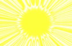 Het beeld van de zon. Royalty-vrije Stock Fotografie