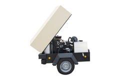Het beeld van een beweegbare compressor stock fotografie