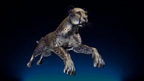 Het beeld van een gepard Royalty-vrije Stock Foto's
