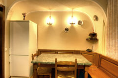 Het beeld van een gewoonde in multiroom flat Royalty-vrije Stock Foto
