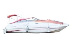Het beeld van een motorboot Stock Afbeeldingen