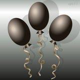 Het beeld van het ballontrio Stock Foto's