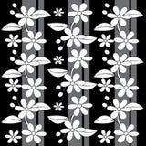 Het beeld van het bloempatroon stock illustratie