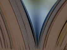Het beeld van het boek Stock Foto's