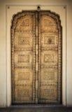 Het beeld van het close-up van oude deuren Royalty-vrije Stock Afbeeldingen